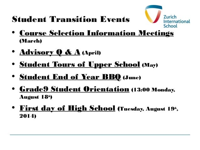 Grade 9 Course Selection Presentation for G8 Parents