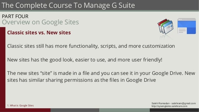 G Suite Administrator Traning Course