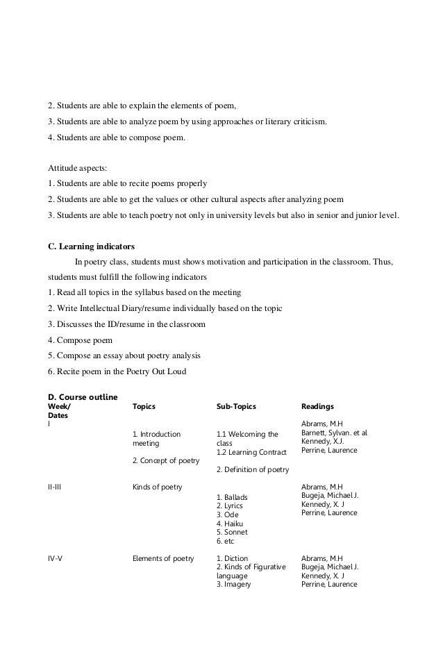 essay writing class syllabus Academic reading and writing course focuses on developing critical reading and research skills syllabus course description simple essay format (writing a.