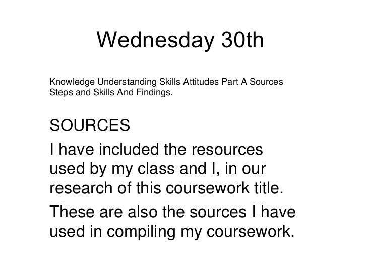My coursework columbia