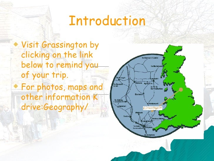 geography coursework grassington