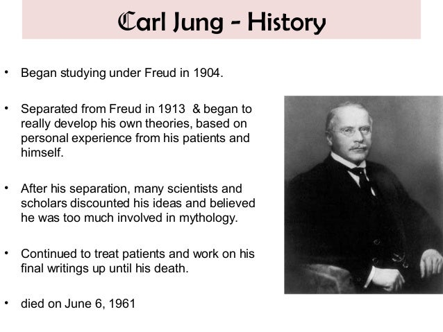 freud and jung early psychoanalytic theories essay Jung saw freud's theory of the unconscious as at a talk about a new psychoanalytic essay on amenhotep iv, jung expressed his views on how it carl jung.