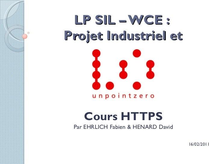 Cours HTTPS pour UnPointZero