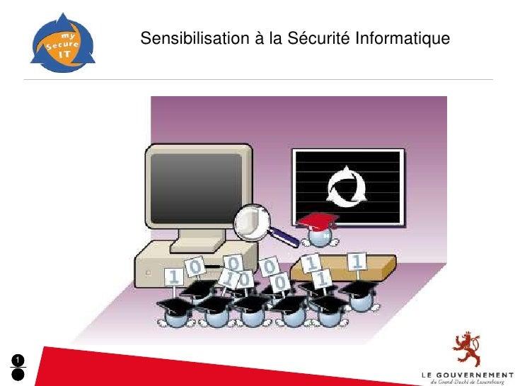 Sensibilisation à la Sécurité Informatique                                     -1