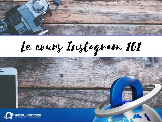 Instagram est un réseau social utilisant comme médium de communication principalement les images, vidéos et GIF.