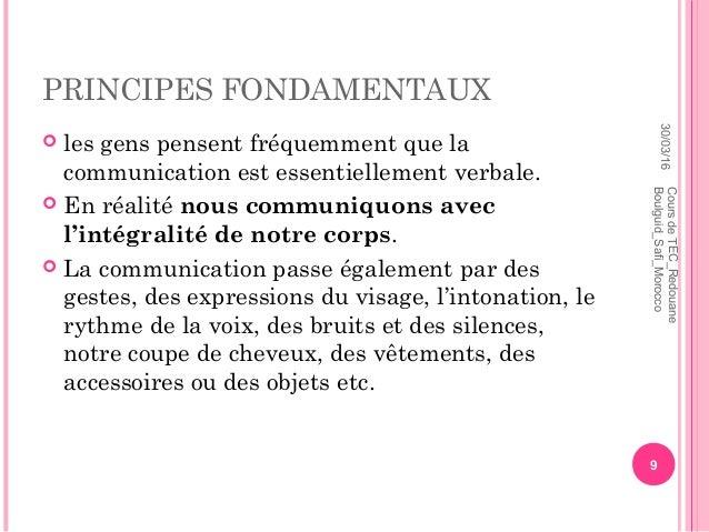 cours technique de communication pdf