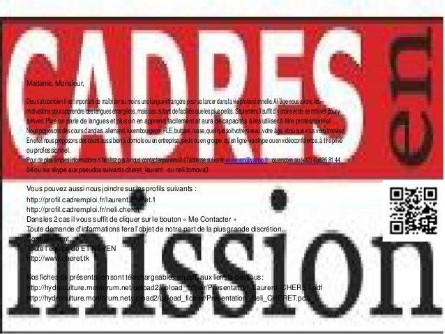 Cours langues entreprises_qr_code Slide 2