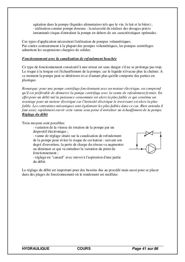 3faf20630629 Cours Hydraulique licence