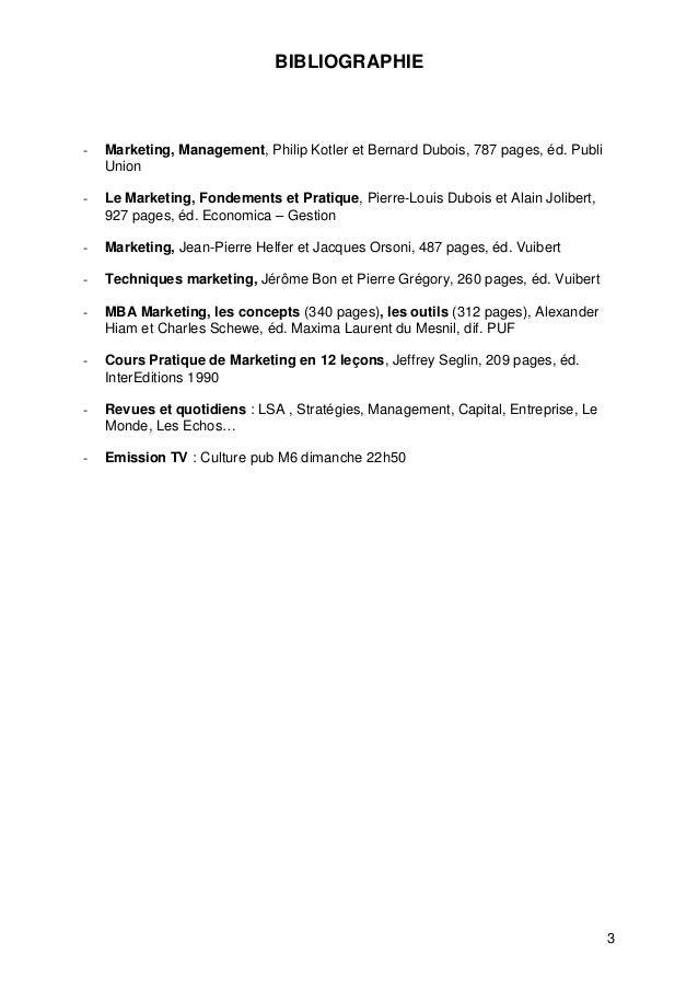 Cours marketing de base s3  Slide 3
