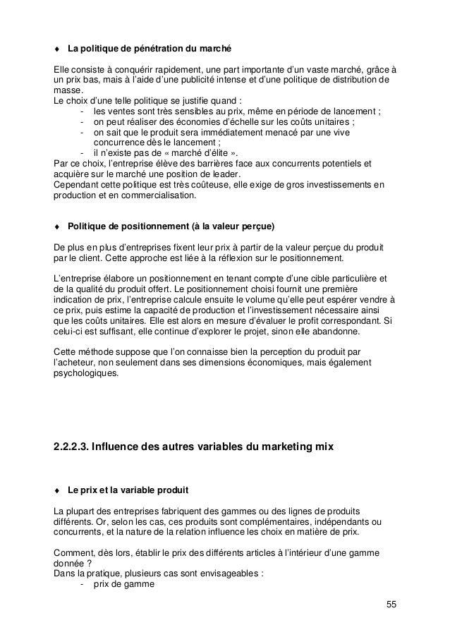 Cours marketing de base s3