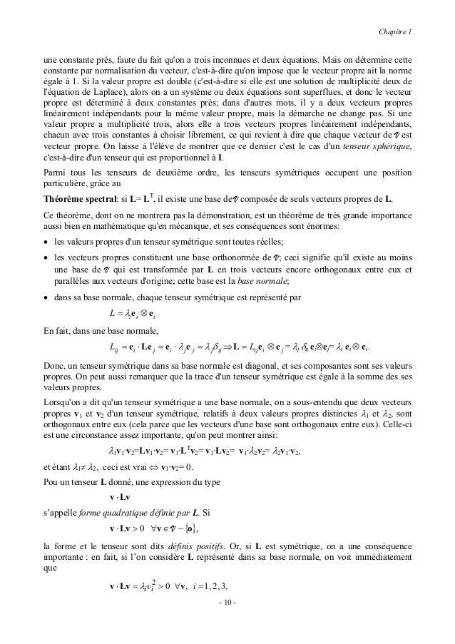 Chapitre 1où les λi sont les valeurs propres de L ; il est alors évident que l'inégalité ci-dessus est toujourssatisfaite ...