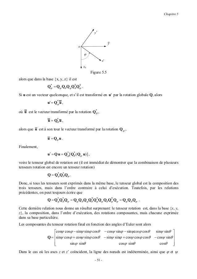 Cours mecanique generale