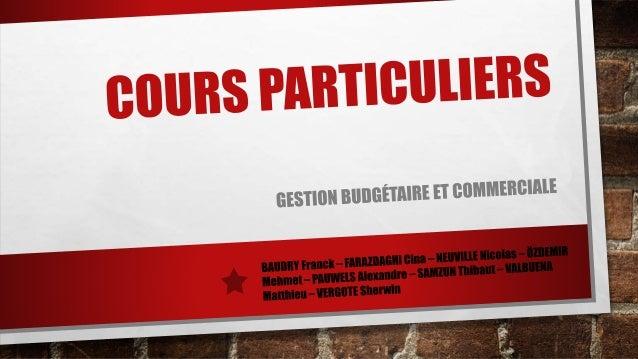 SOMMAIRE  1. EXPLICATION DU CA POTENTIEL FINAL  2. EXPLICATION DU F ENCODÉ ET DES AUTRES FRAIS D'EXPLICATION  3. ANALYSE D...