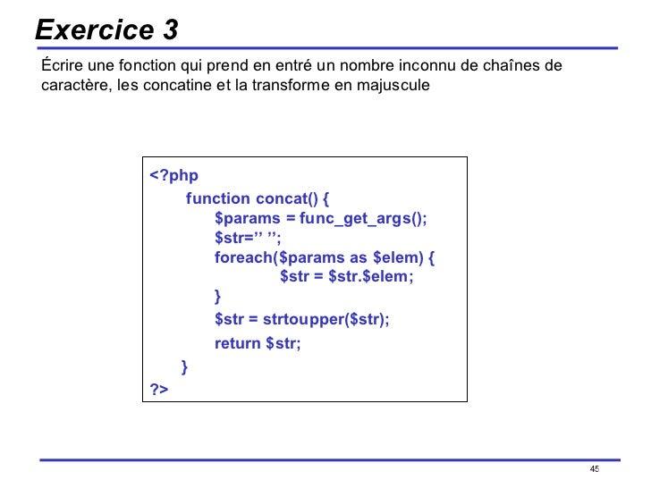 php majuscule