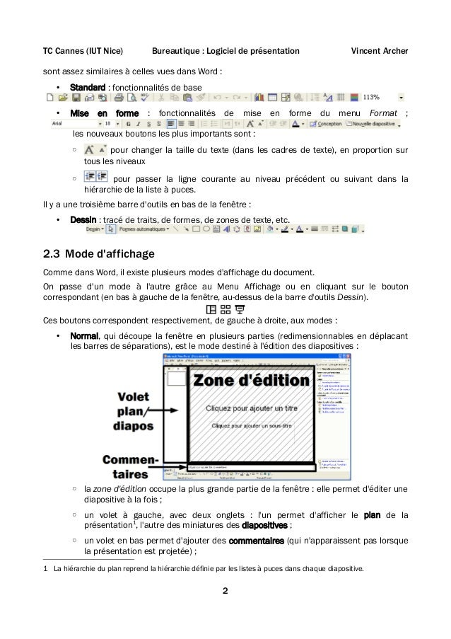 Cours powerpoint Slide 2