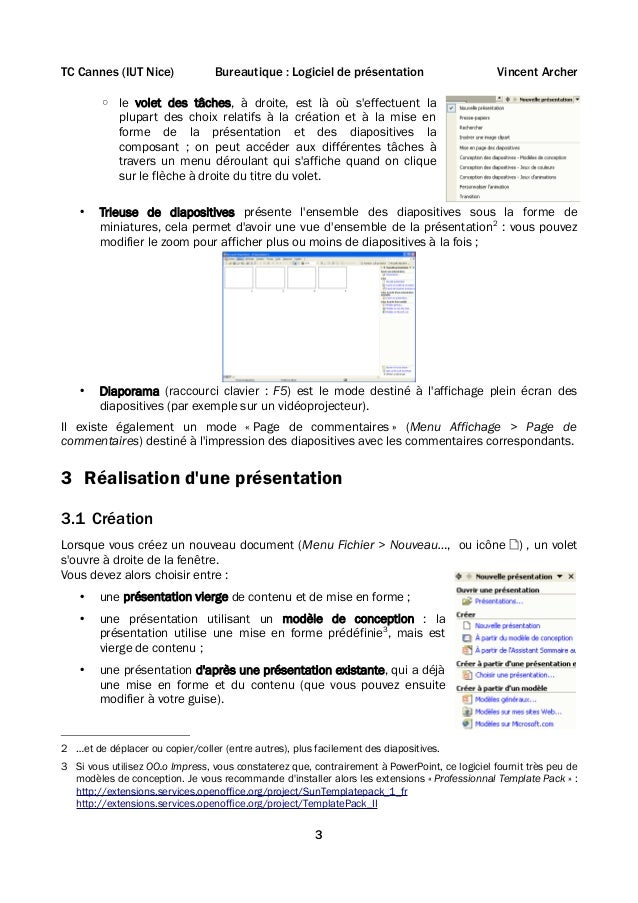 Cours powerpoint Slide 3