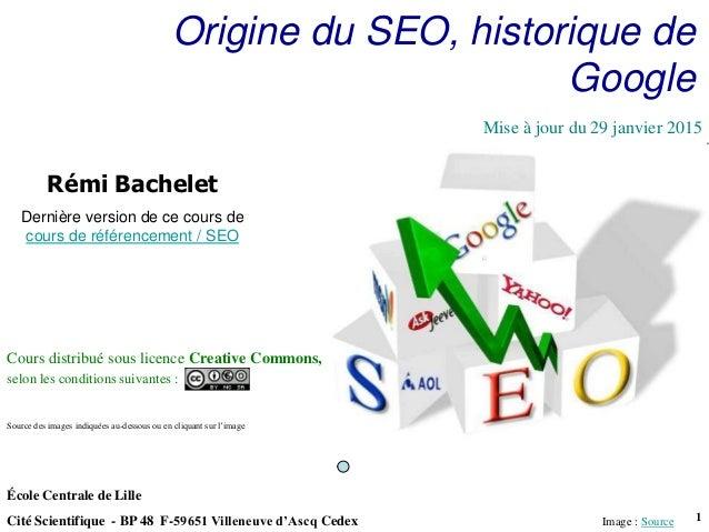 Utilisation ou copie interdites sans citationRémi Bachelet janvier 15 1 École Centrale de Lille Cité Scientifique - BP 48 ...