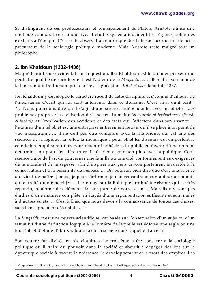 www.chawki.gaddes.orgSe distinguant de ces prédécesseurs et principalement de Platon, Aristote utilise uneméthode comparat...