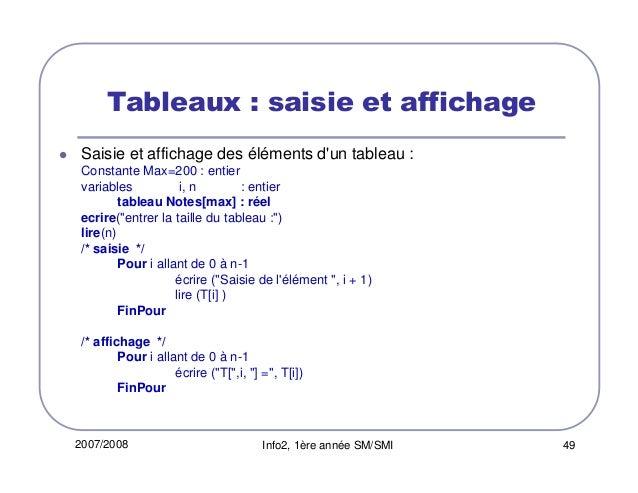 Cours Structures Des Donnees Langage C