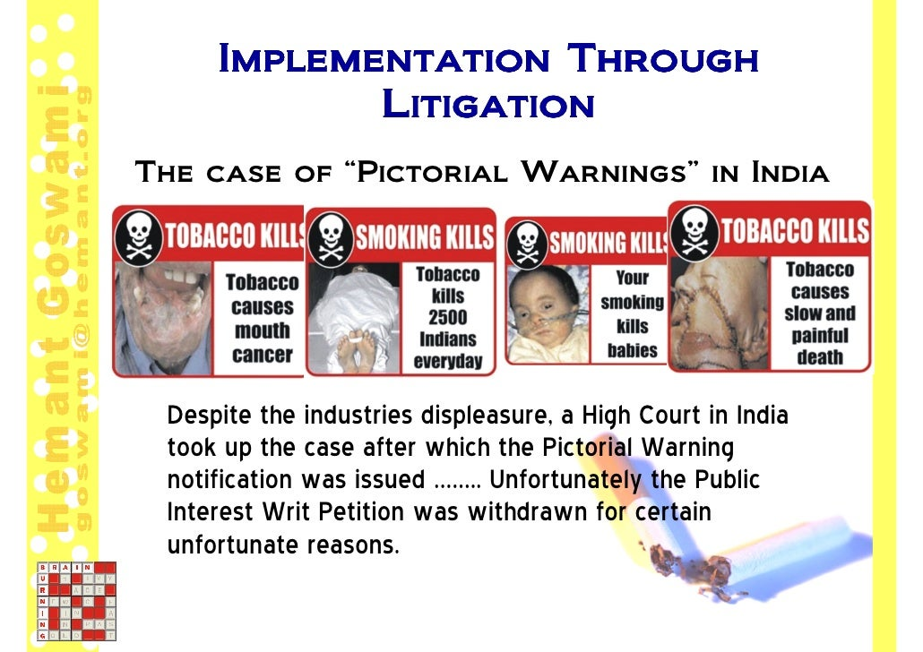 the case of wigand against tobacco companies and smoking On friday about jeffrey wigand, a tobacco industry against the tobacco industry to recover medical jurors in florida's tobacco case.
