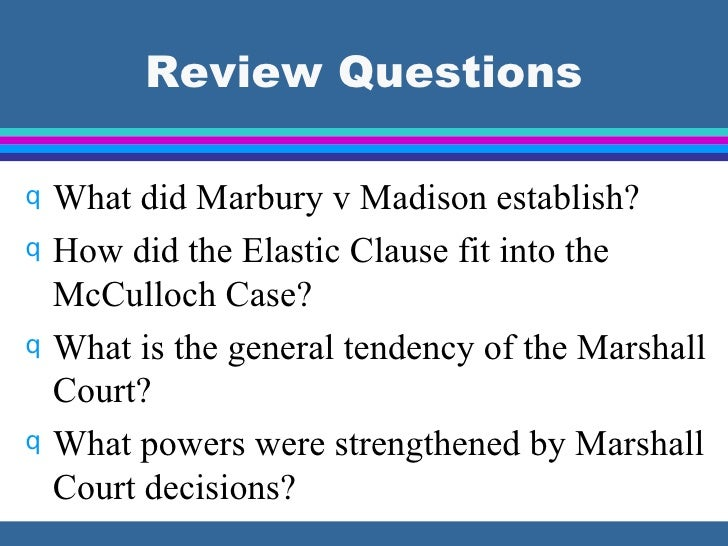 government court cases Marbury v madison (1803) william marbury received a commission to be a justice of the peace for washington, dc at the end of president john adams' term of office.
