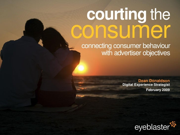 courting the                                          consumer                                          connecting consume...