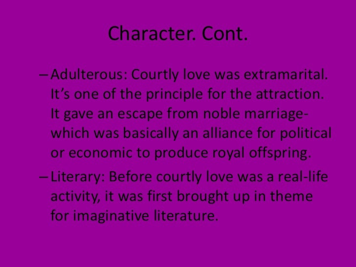 courtly love literature