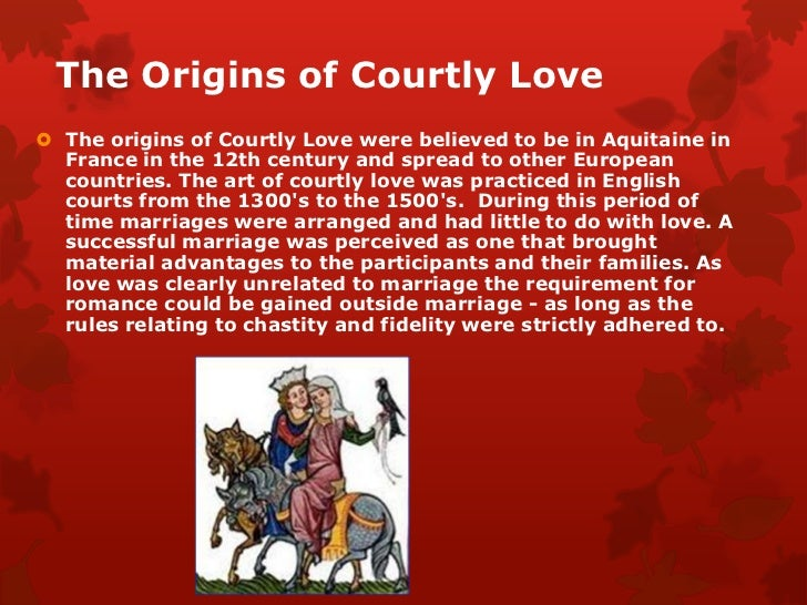 knighthood and courtly love in the Knighthood and courtly love in geoffrey chaucer's troilus and criseyde before discussing troilus and criseyde we may have a brief overview of chaucer's biography geoffrey chaucer  son of a wine-merchant of norman descent, who was himself well-known at court , chaucer was born in london around.