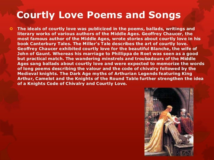 Essay Paper on Courtly Love As Seen By Chaucer