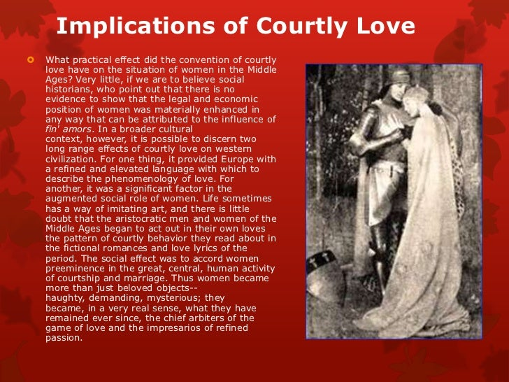 knighthood and courtly love in the Chivalry definition, the sum of the ideal qualifications of a knight military skill, generosity in victory, piety, and courtesy to women (compare courtly love.