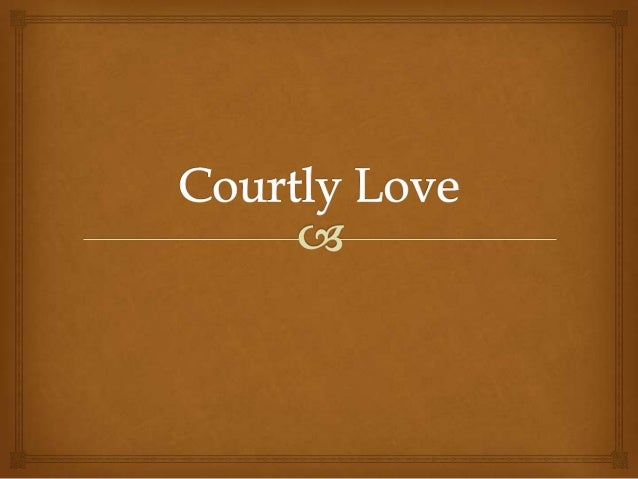 courtly love middle ages essays During the middle ages, courtly love was a code which prescribed the conduct between a lady and her lover (britannica) the relationship of courtly love was very much like the feudal relationship between a knight and his liege the lover serves his beloved, in the manner a servant would he owes his .