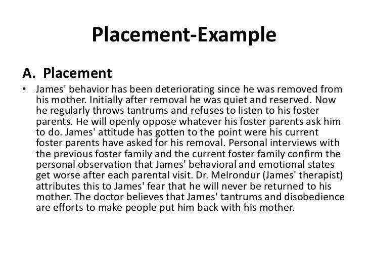 Court visit report essay