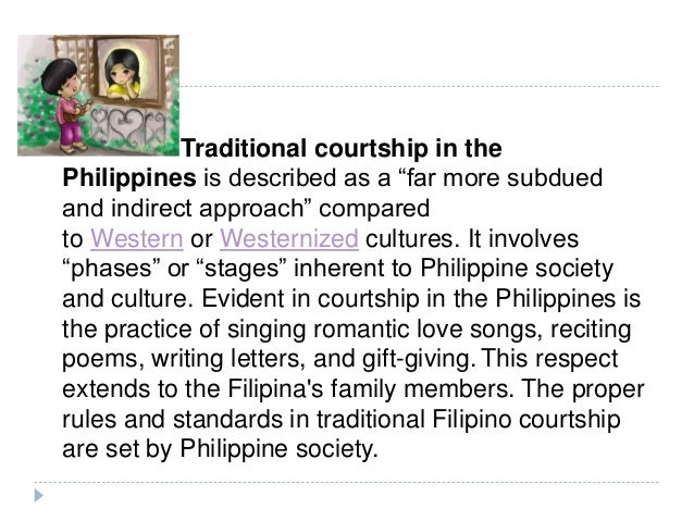 Essay about filipino traditions for dating