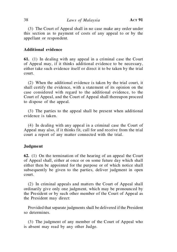 Rules Of The Court Of Appeal 1994 Malaysia Pdf Ecilanrin S Ownd