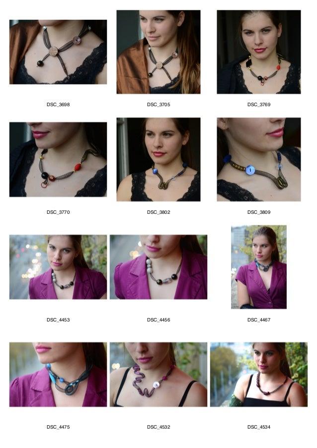 Collection hiver 2014 collier court soirée  Slide 2