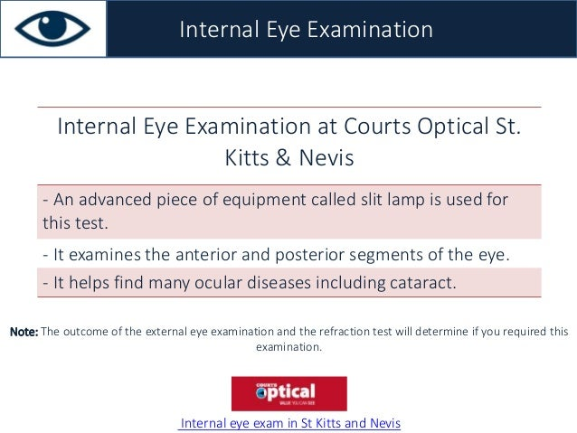 Courts Optical St. Kitts and Nevis Vision Screening Service
