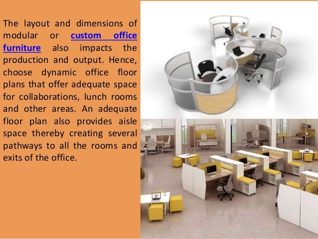 Modular Office Furniture For Workplace