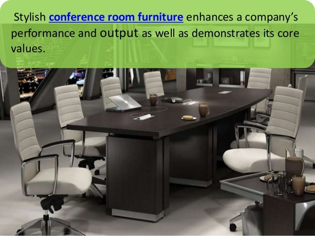 ... 3. Stylish Conference Room Furniture ...