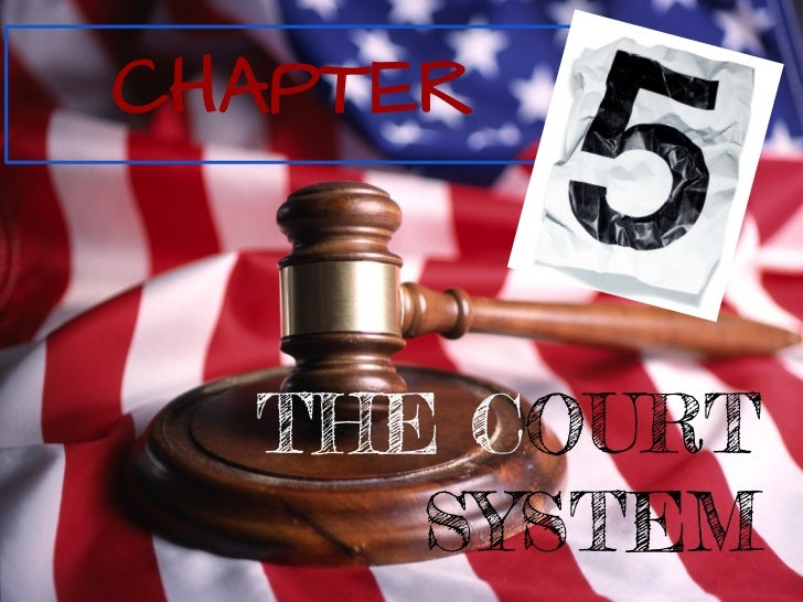 CHAPTER  THE COURT     SYSTEM