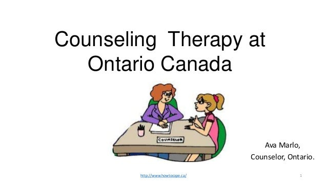 Counseling Therapy at   Ontario Canada                                      Ava Marlo,                                   C...