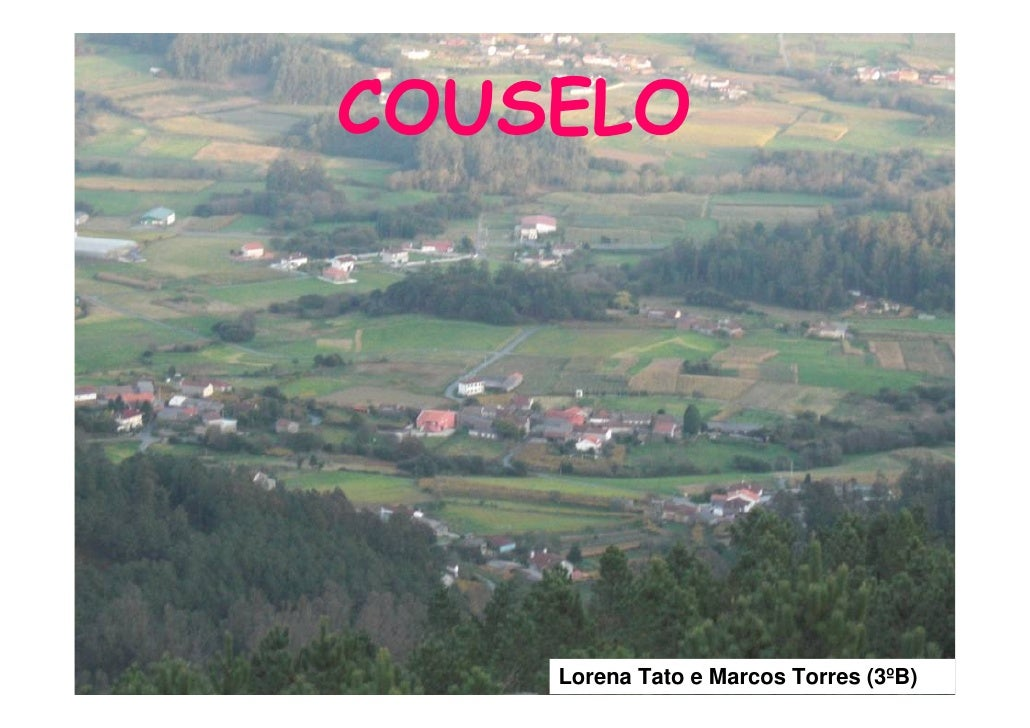 COUSELO         Lorena Tato e Marcos Torres (3ºB)