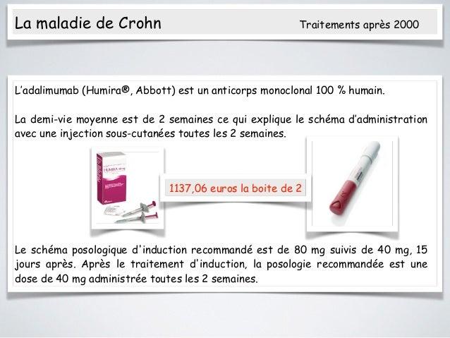 injection maladie de crohn