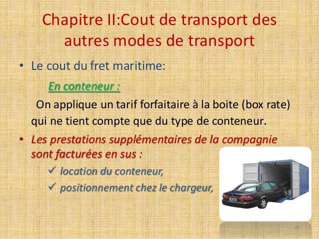 Cout De Transport Ihssane Yachaoui Bari