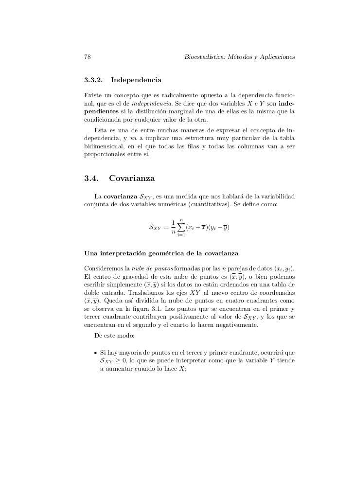 78                                      Bioestad´                                                ıstica: M´todos y Aplicac...