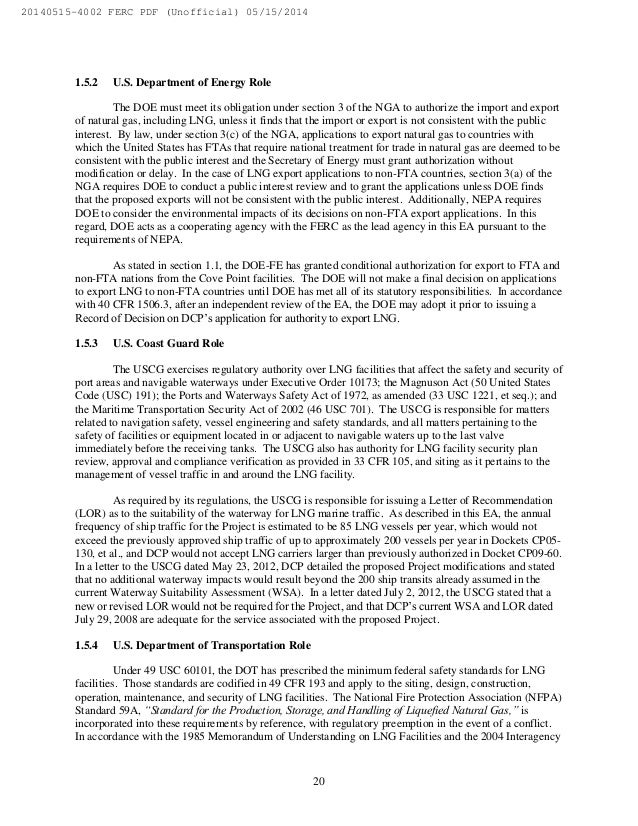 Essay In English   A Modest Proposal Essay also Sample Essays High School Students Ferc Environmental Assessment For The Cove Point Liquefaction Project Buy Custom Essay Papers