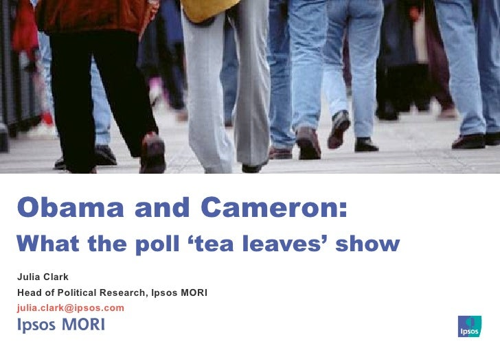 Obama and Cameron: What the poll 'tea leaves' show Julia Clark Head of Political Research, Ipsos MORI [email_address]