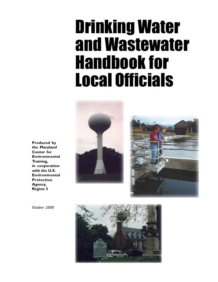 Drinking Water                  and Wastewater                  Handbook for                  Local Officials   Produced b...