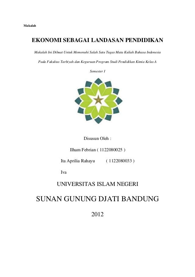 Cover Skripsi Uin Bandung Ide Judul Skripsi Universitas