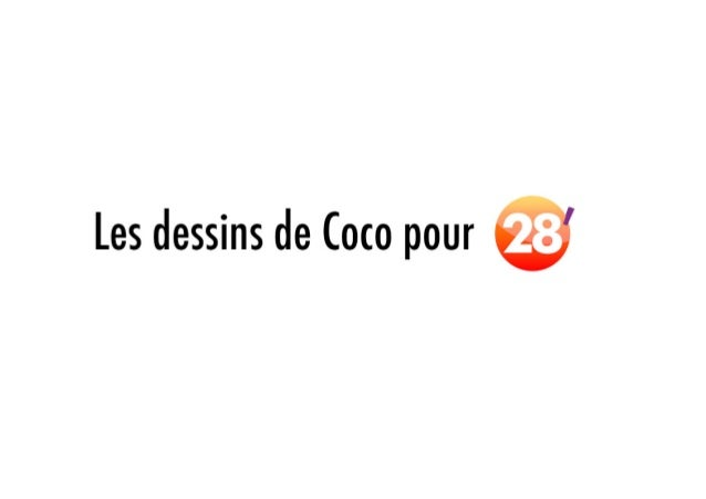 Les dessins de Coco pour le 28' d'ARTE