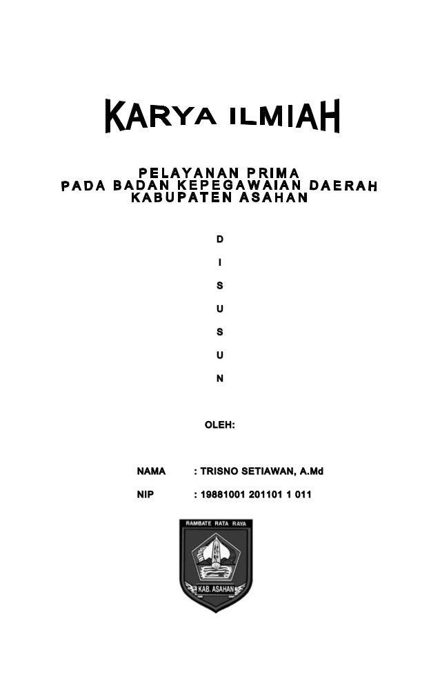 Cover Karya Ilmiah UPKP